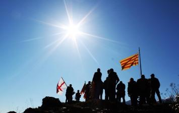 Celebrem amb Otger Cataló el segón aniversari del bloc Gànguil