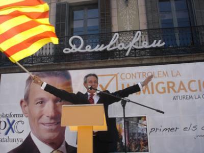 """Anglada (PxC): """"Els tecnòcrates de Brussel.les traeixen als europeus"""""""