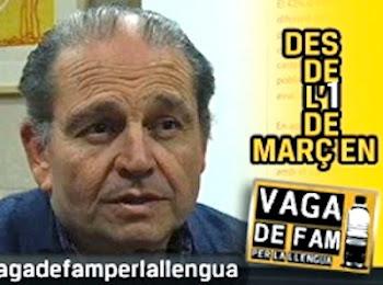 Jaume Bonet: En vaga de fam pel català